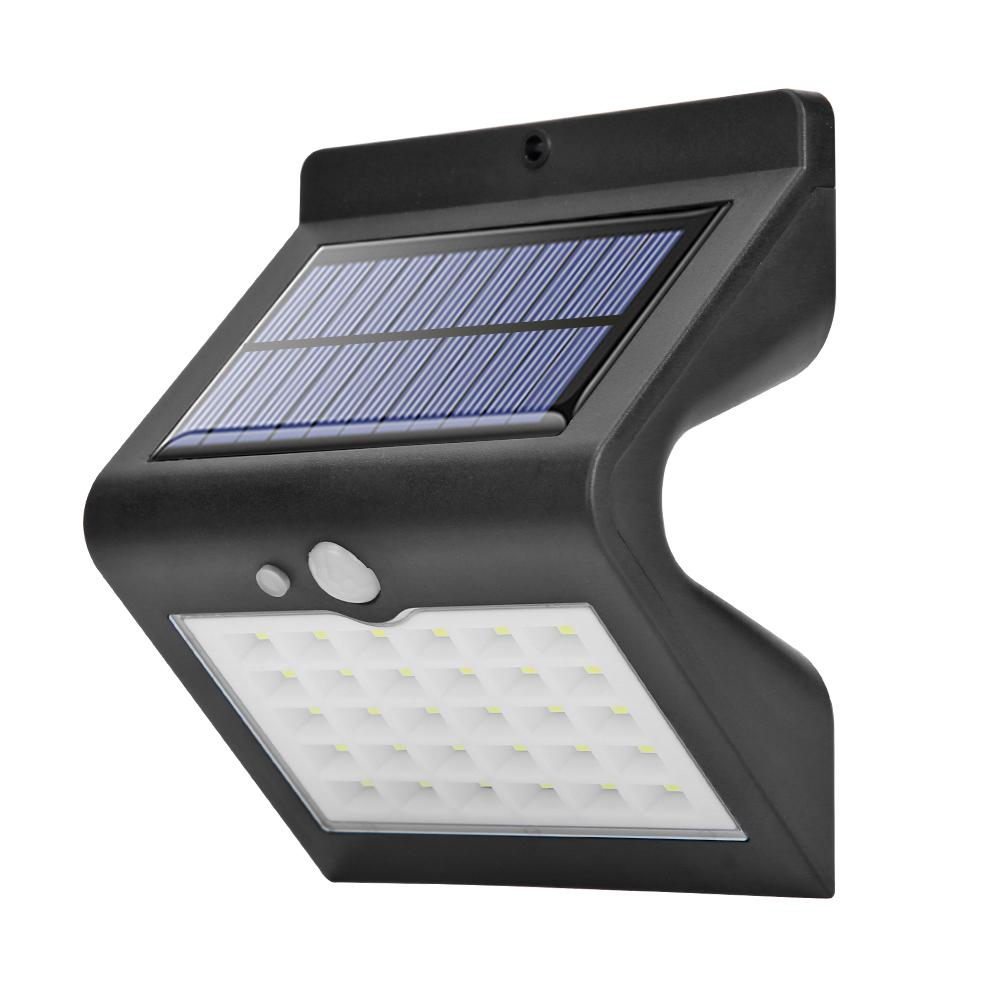 30LED Solar Light Multi-function Stable Operation Reliable Sensor Outdoor Waterproof Garden Home Pathway Yard Wall Lamp