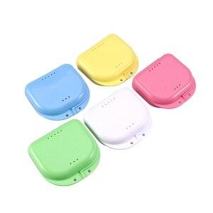 Retainer Case 5Pcs Mouth Guard Case Orthodontic Retainer Box Denture Storage Container