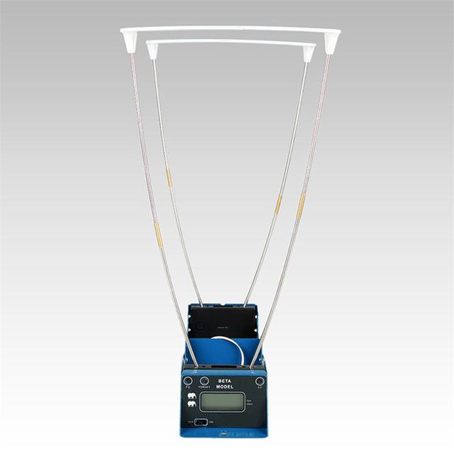 Wyświetlacz LCD zmierz prędkość pocisku strzelanie polowanie Timer składany tester prędkości prędkościomierz Velometer z dwoma czujnikami tanie i dobre opinie KKMOON Speed Tester Anemometr