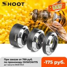 Strzelać automatyczne ustawianie ostrości pierścienie pośrednie makro pierścień do canona EOS EF EF S obiektyw 4000D 2000D 1200D 1100D 700D 450D 400D 200D 70D 5D T5 T6i