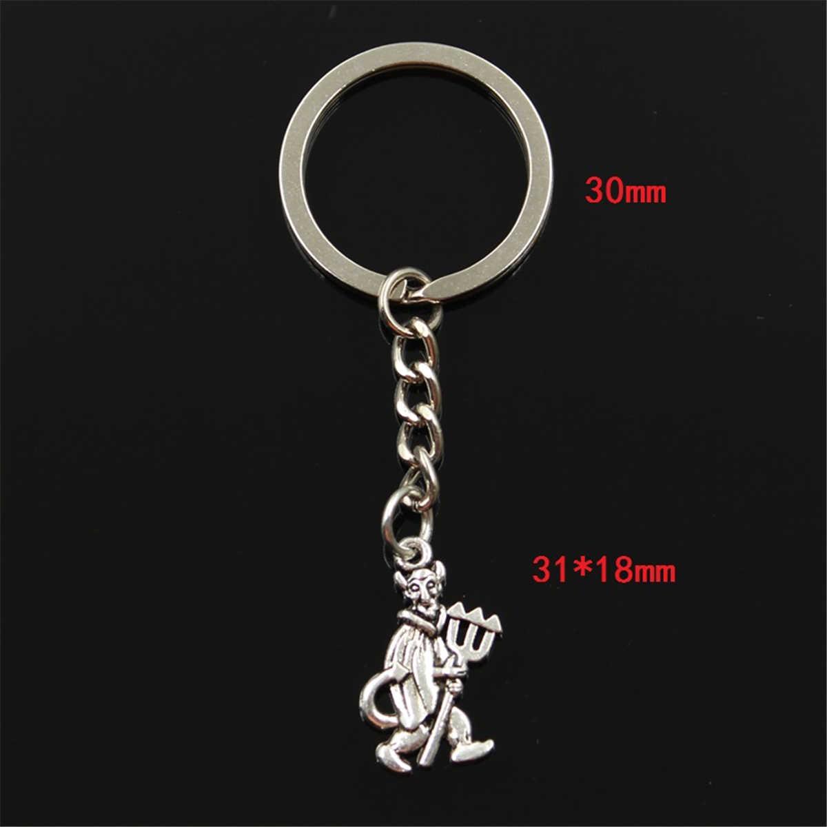 1pcs Fashion Lovely Anime Pokemon Tibetan silver Glass Key Ring