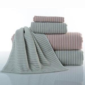 Wysokiej jakości ręczniki do twarzy wielowarstwowy ręcznik kąpielowy luksusowa domowa miękka bawełniana wygodna niebiesko-szara zielona tarcza ręcznikowa