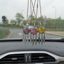 New Aromatherapy Car Perfume Diffuser Pendant Dreamcatcher Feather Lockets Air Freshener Necklace Jewelry