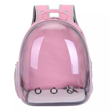 Dog Pack Pet Knapsack Portable Space Cat Bag Dog Bag Transparent Dog Bag Go Out Cat Bag Backpack Small Pets Pet Supplies & the new multi color pets go out of the food bag dog training waist bag easy to carry bag pet supplies pet snack bag dog carriers