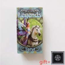 Legends Tarot Board-Game Divination Deck Oracles for Women Girls Cards Mysterious New