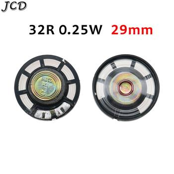 JCD 1PCS New Ultra-thin speaker Doorbell horn Toy-car horn 32 ohms 0.25 watt 0.25W 32R speaker Diame