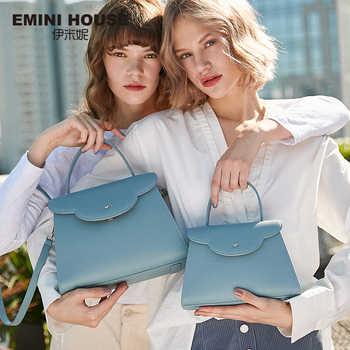 EMINI HOUSE Cloud Handbag Luxury Handbags Women Bags Designer Split Leather Crossbody Bags For Women Shoulder Bag - DISCOUNT ITEM  50% OFF All Category