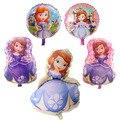 1 шт большой принт «Принцесса София»; Воздушный шарик из фольги в форме на день рождения вечерние свадебные украшения воздушный шар с гелием...