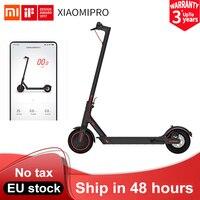 Xiaomi-patinete eléctrico M365 Pro para adultos, versión Global, inteligente, con aplicación, 2 ruedas, aeropatín plegable, Longboard, 45km