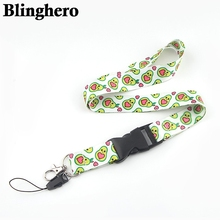 CA1350 Avocado Fruit Lanyards For keychain ID Card Pass Mobile Phone USB Badge Holder Hang Rope Lariat Lanyard flyingbee love story lanyards for keys id card pass gym mobile phone usb badge holder hang rope lariat lanyard x0079
