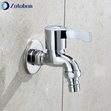 Garden Faucet Outdoor Tap-Washing-Machine Water-Taps Bathroom Brass Kitchen Mop ZOTOBON