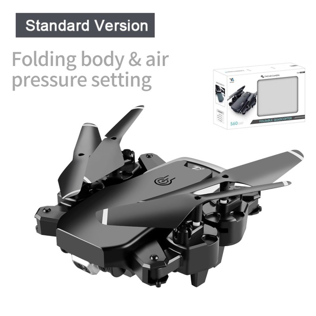 cheapest S60 Remote Control Drone Hd Aerial Photography Professional Four-axis Aircraft Folding Aircraft Model Aircraft Toy
