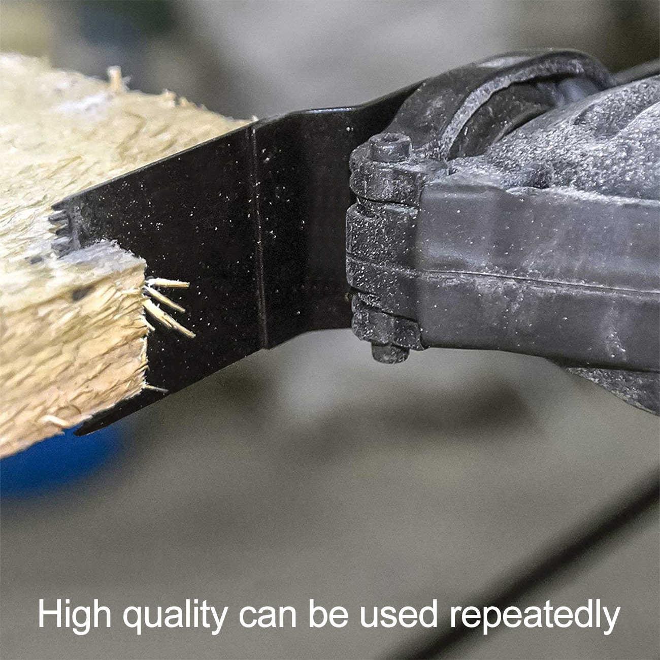 50 adet salınımlı çok aracı testere bıçağı Fein Bosch çok usta Makita kesme ahşap araçları Dremel bıçağı bıçakları