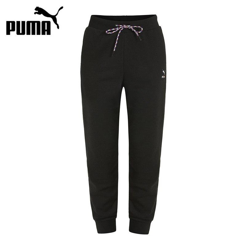 Original New Arrival PUMA PI Knit Track Pants Women's  Pants  Sportswear