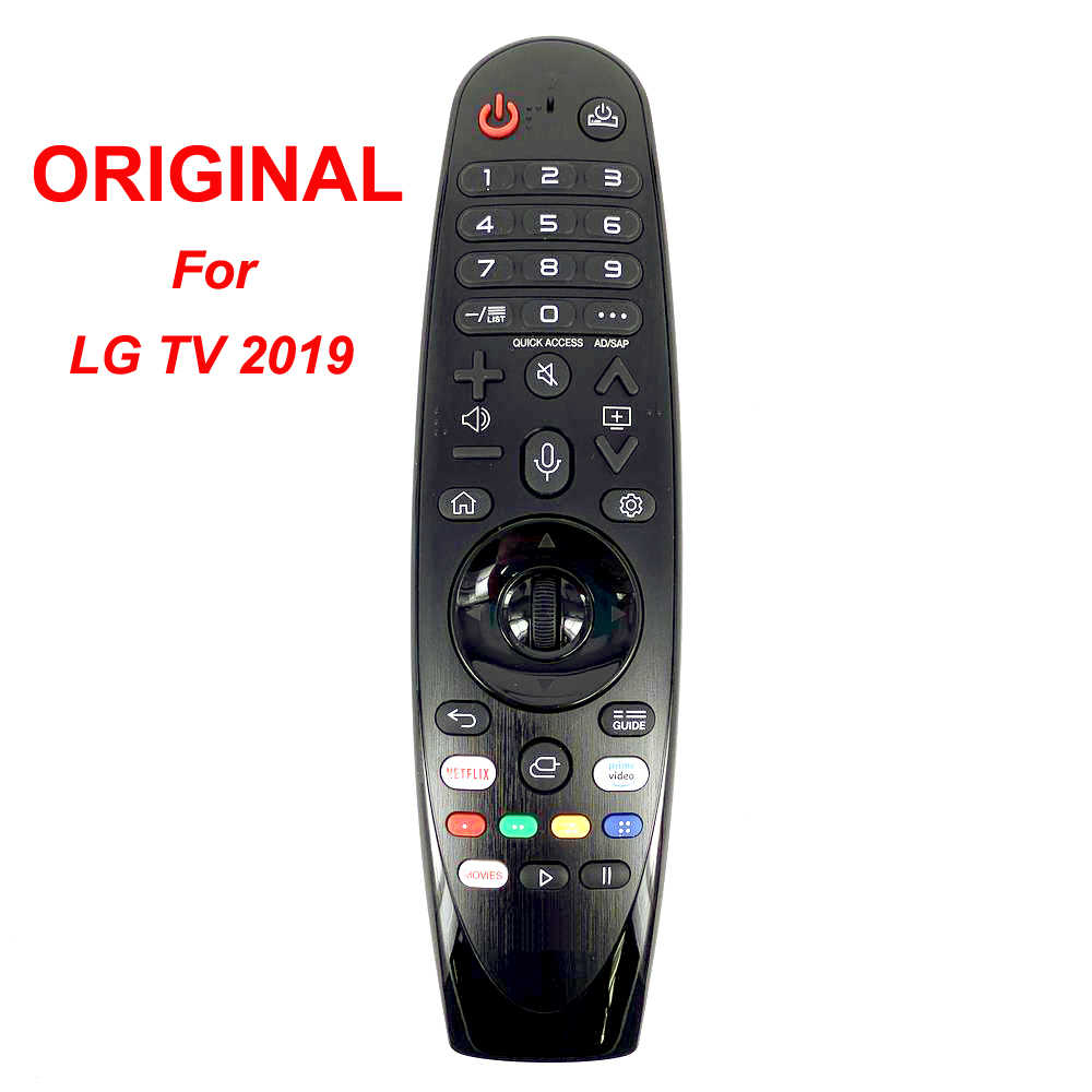 New Original Genuine An Mr18ba An Mr19ba Ir Voice Magic Remote Control For Lg 4k Uhd Smart Tv Model 2018 2019 Remote Controls Aliexpress