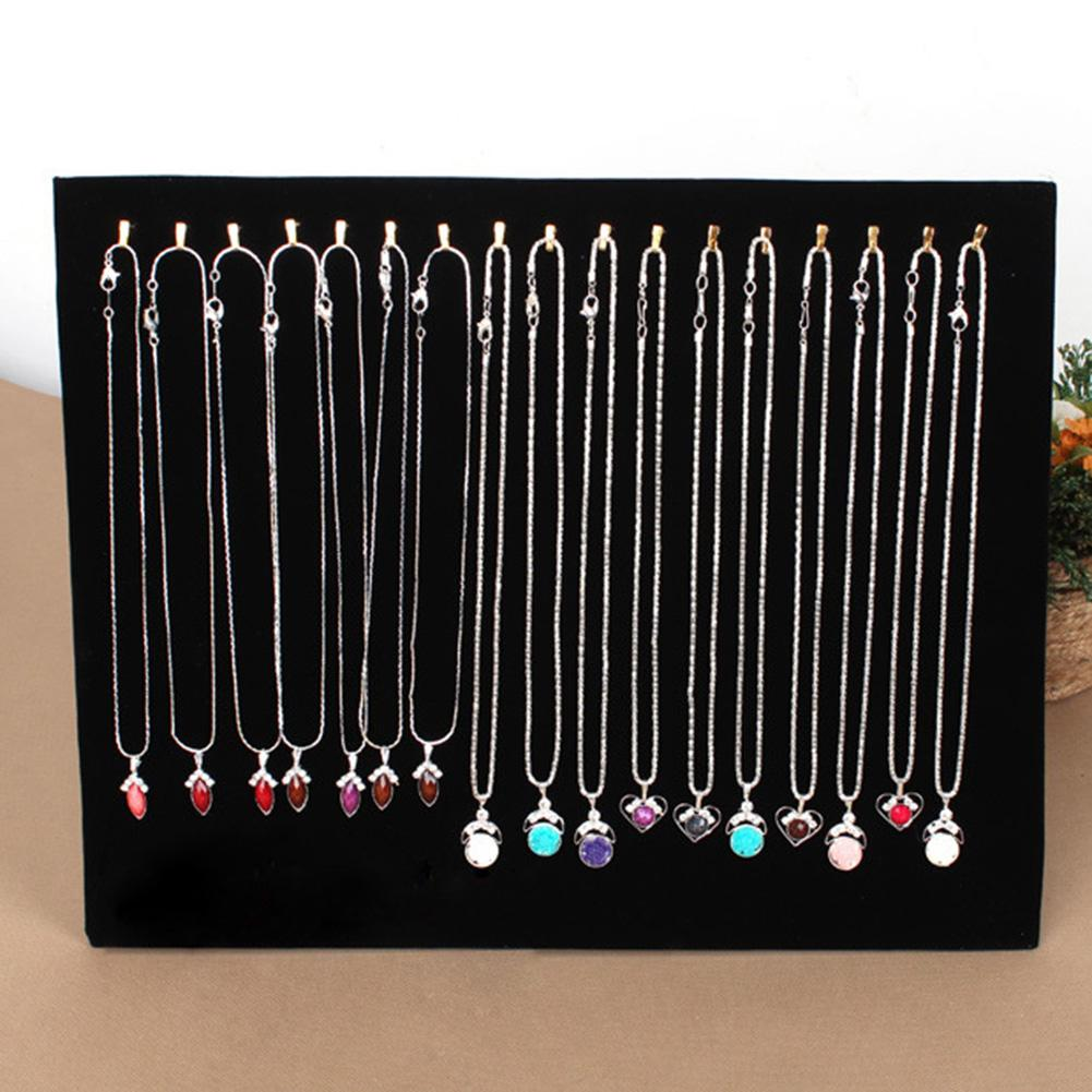 17 Hooks Jewelry Display Stand/Necklace Holder/Jewelry Organizer /Chain Hang Show Rack/Pendant Chain Display Rack/Earring Holder