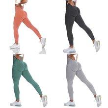 Yeni Vital dikişsiz tayt kadınlar için egzersiz spor salonu Legging yüksek bel spor Yoga pantolon popo ganimet Legging spor tayt