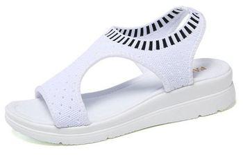 YEELOCA 2020 New Female Shoes Women Summer A001 Wedge Comfort Sandals Ladies Flat Slingback Sandals TG3697