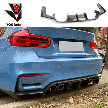 F80 M3 F82 F83 M4 Carbon Fiber / FRP Rear Bumper Spoiler Diffuser for BMW F80 M3 F82 F83 M4 2014-2018 Sedan Coupe Convertible image