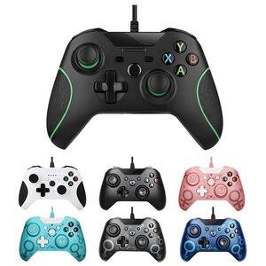 USB проводной контроллер для Microsoft Xbox One контроллер геймпад для Xbox One тонкий ПК Windows Mando для Xbox one джойстик