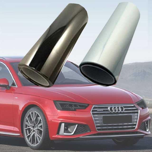 2019 PU Protection Film For Headlights Tail Lights Smoke Fog Lights Film Car Light Headlight film Sheet Car Sticker dark lamp
