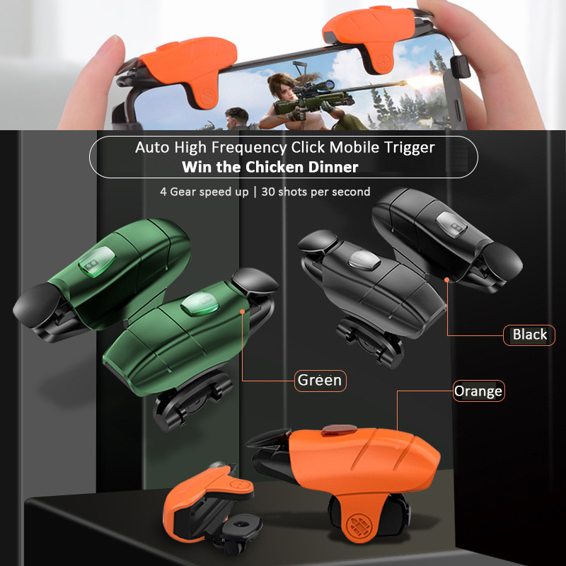 PUBG мобильный контроллер Авто высокочастотный клик мобильный триггер для PUBG/Fortnite и игровые Джойстики для телефона Android iOS