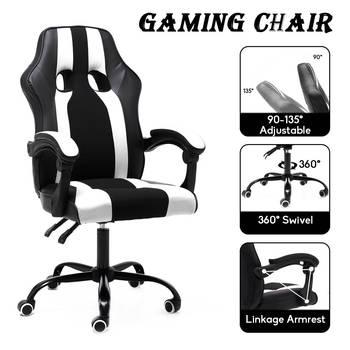 Gracz komputerowy krzesło leżący ergonomiczny komputer biurowy wykonawczy krzesło krzesło biurowe kafejka internetowa fotel domowy rozkładany fotel tanie i dobre opinie CN (pochodzenie) Gaming Office Chair Fotel dyrektora Fotel z podnoszonym siedzeniem krzesło obrotowe 800mm 62x105cm gaming chair
