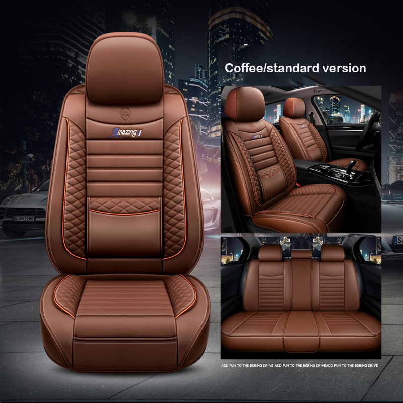Car seat cover universal for auto <font><b>hyundai</b></font> getz ioniq i10 <font><b>santa</b></font> <font><b>fe</b></font> solaris tucson creta ix25 <font><b>accessories</b></font> covers for vehicle seats image