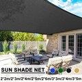 200 -600cm Sonnensegel Platz Anti-Uv Sonnenschutz Net Außen Markisen Sonnendach Garten Terrasse Pool Sonnensegel garten Sonne Schatten Net