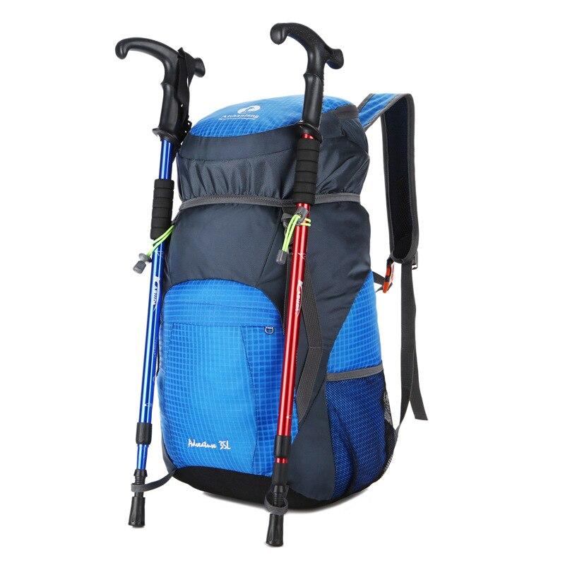 Outdoor Mountaineering Bag Folding Bag Shoulder Bag Portable Backpack Can Be Printed Logo