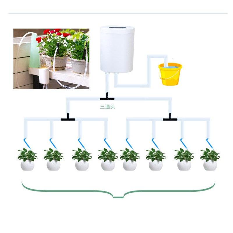 Intelligente Garten Automatische Bewässerung Gerät für Sukkulenten Anlage Lade Topfpflanze Tropf Bewässerung Wasserpumpe Timer System