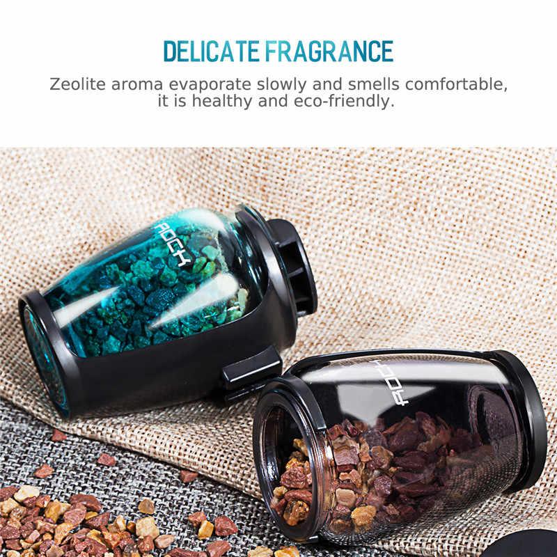 Aromaterapia soporte de coche ROCK Universal purificador de aire de coche ambientador soporte de aire de ventilación de coche soporte de fragancia de zeolita de lujo