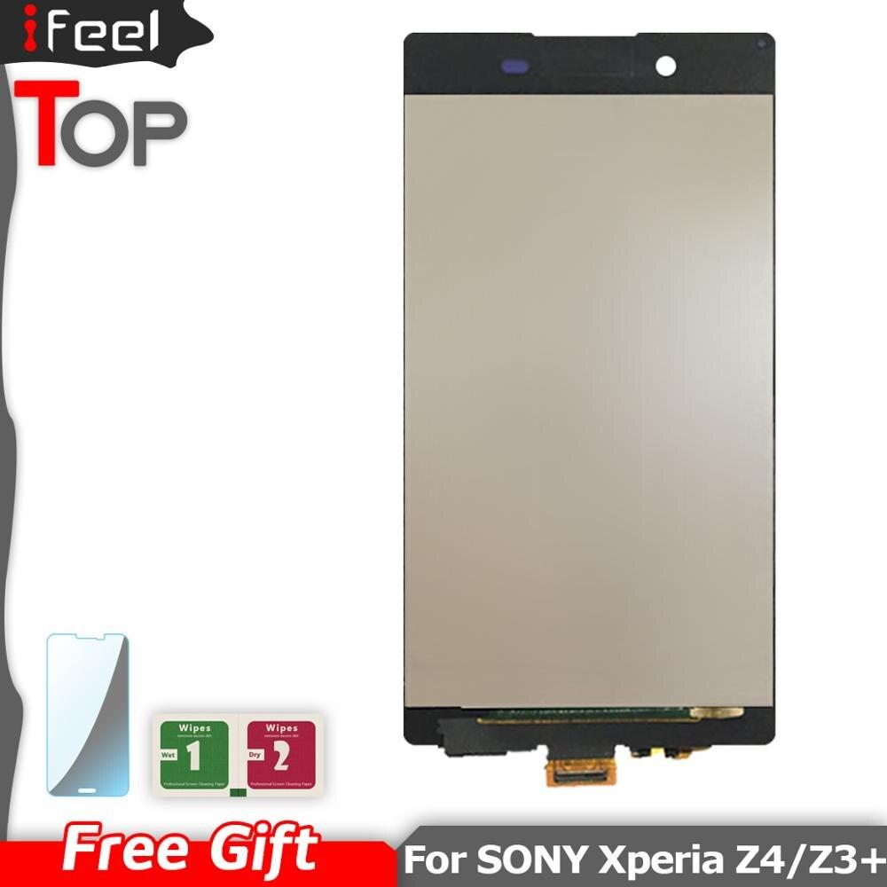 Nouveau 100% testé LCD écran tactile numériseur pour Sony Xperia Z3 Plus Z4 E6553 E6533 E5663 Z3 + 5.2