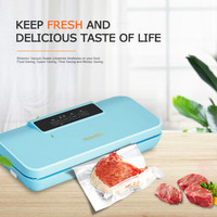 Dry and Wet Universal with Cutter Automatic Vacuum Packaging Machine Sealer Vacuum Sealer Food Preservation Machine Foodsaver