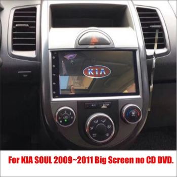For KIA Soul 2009~2011 - Car Android Radio Player TV Screen GPS Navi Navigation Audio Video Wince Multimedia System no CD DVD