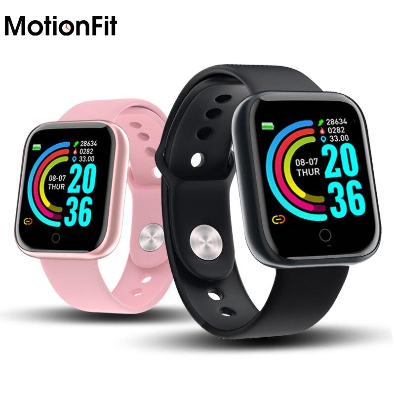 Reloj inteligente Y68 para hombre D20 Pro Fitness Smartwatch con Monitor de ritmo cardíaco presión arterial pulsera de seguimiento deportivo para Apple IOS Android Apple iPhone 6S iOS Dual Core 4G LTE desbloqueado teléfono móvil 4,7
