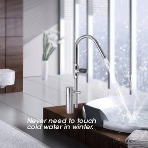 Image 4 - Wyświetlacz LED strona główna woda prysznic termometr miernik Monitor kuchnia łazienka inteligentny dom opieka nad dzieckiem