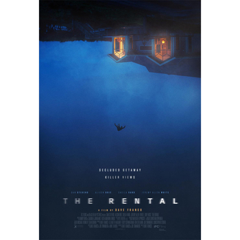 D0889 The Rental Movie Silk Fabric Poster Art Decor Indoor Painting Gift image
