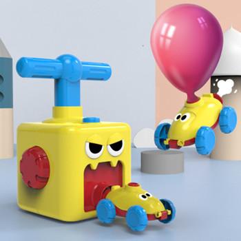 Samochodzik napędzany powietrzem z balonu zabawka edukacyjna dla dzieci składany samochód z napędem inercyjnym eksperyment naukowy w formie zabawy doskonały prezent tanie i dobre opinie Z tworzywa sztucznego CN (pochodzenie) 3 lat Inne Diecast Certyfikat 2019152203027068 SZNM056 Need parents to accompany