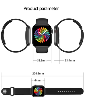 2021 Original X8 Max Smart Watch 1.75inch Custom Dia BT Call  Sports Sleep Monitor Heart-rate Men Woman iwo Smartwatch PK iwo13 5