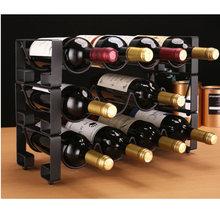 Металлическая стойка для красного вина с 4 бутылками демонстрационный