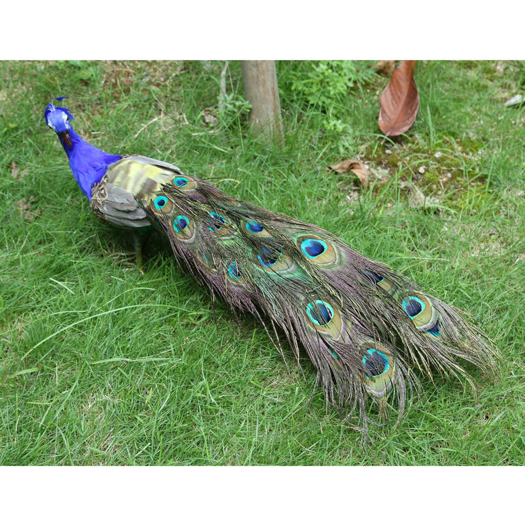 Artificial Peacock, Perfect For Garden Décor Garden Art, Outdoor