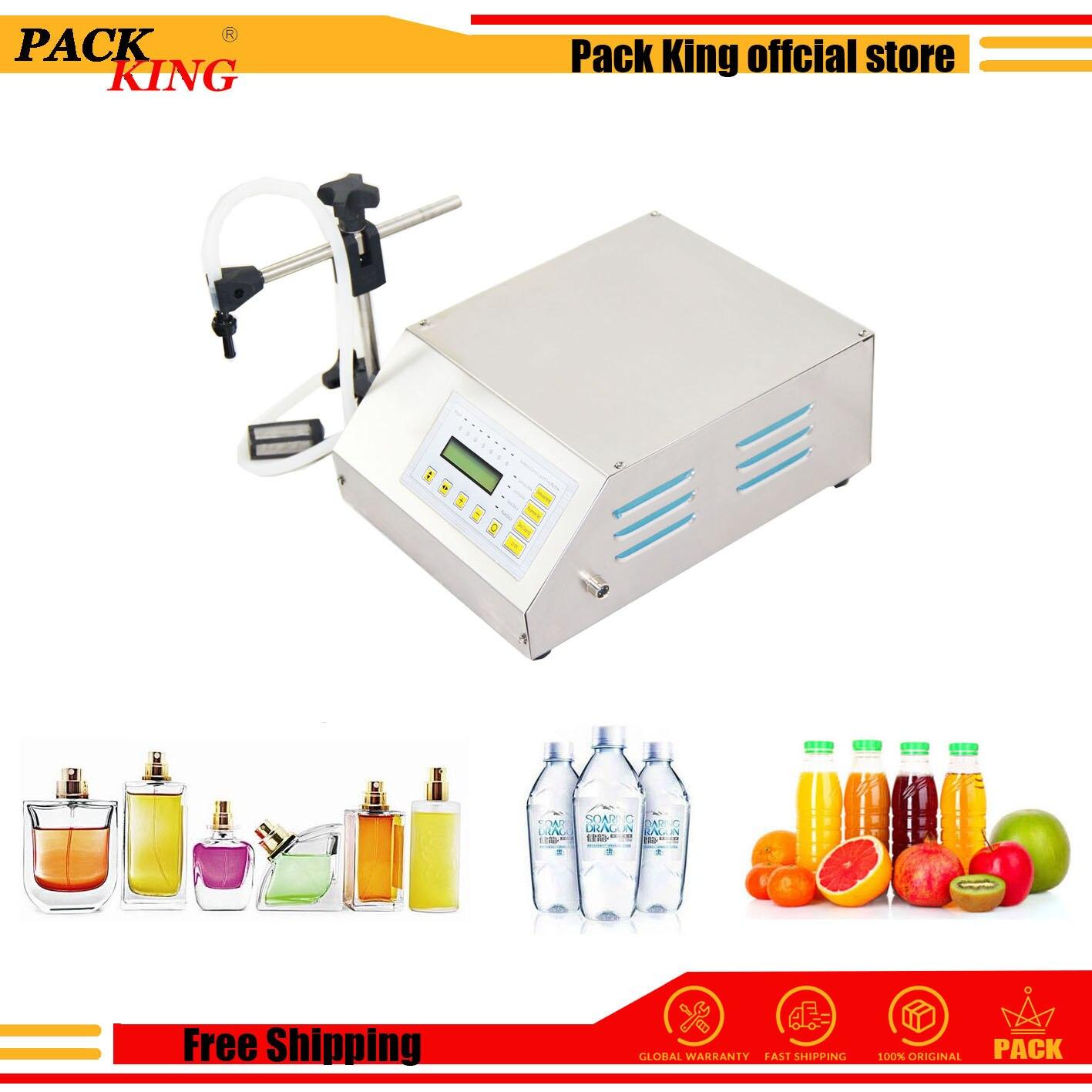 Liquid Water Perfume Filling Machine Milk Vinegar Soy Sauce Drinking Beverage Juice Digital Filler 3-5000ml