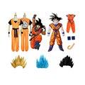 Одежда для мальчиков и девочек, для взрослых, для детей, с рисунком из аниме «Драконий жемчуг зет» костюм парик Косплэй Sen ру аниме Косплэй