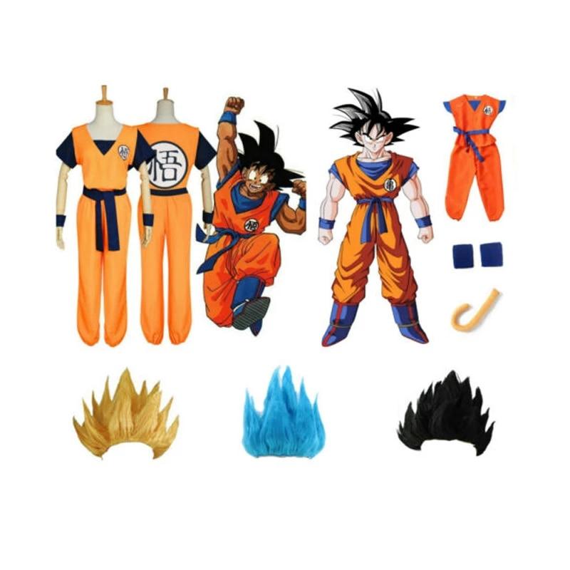 K119 Dragon Ball Z Son Goku Son Gohan Dragonball Sen Ru Cosplay Costume Outfit
