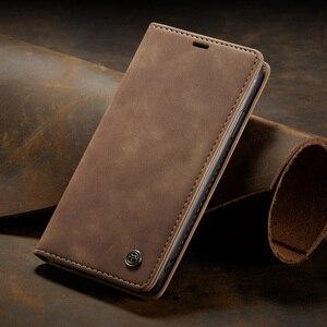 Image 5 - Leather Magnetic Flip Case For Huawei P40 P30 P20 Lite Pro Psmart nova 7i Mate 30 5G 4G Case Wallet Book Card Holder Stand Cover