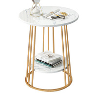 Light Table Bedside Round Living-Room Small Modern No Creative Family Simple Luxury European