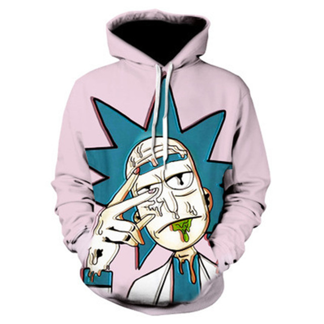 Rick And Morty Hoodie Sweatshirts 5
