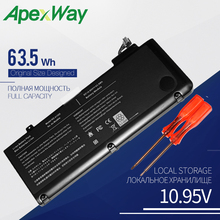 63.5WH ApexWay Laptop battery for APPLE MACBOOK PRO 13″ A1278 (2009 VERSION) MB990*/A MB990J/A A1322