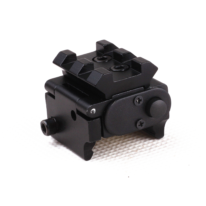 Tactical Red Laser Sight Pointer 300m with 20mm Rail Mount  for Glock 17 19 Pistol Guns Hunting Accessory-3